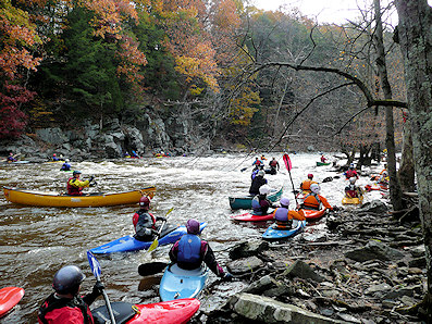 DCNR plans white-water release into Bucks County's Tohickon