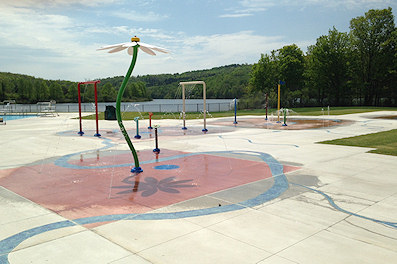 lackawanna state park swimming pool ready for swimmers this holiday weekend may 25 2016